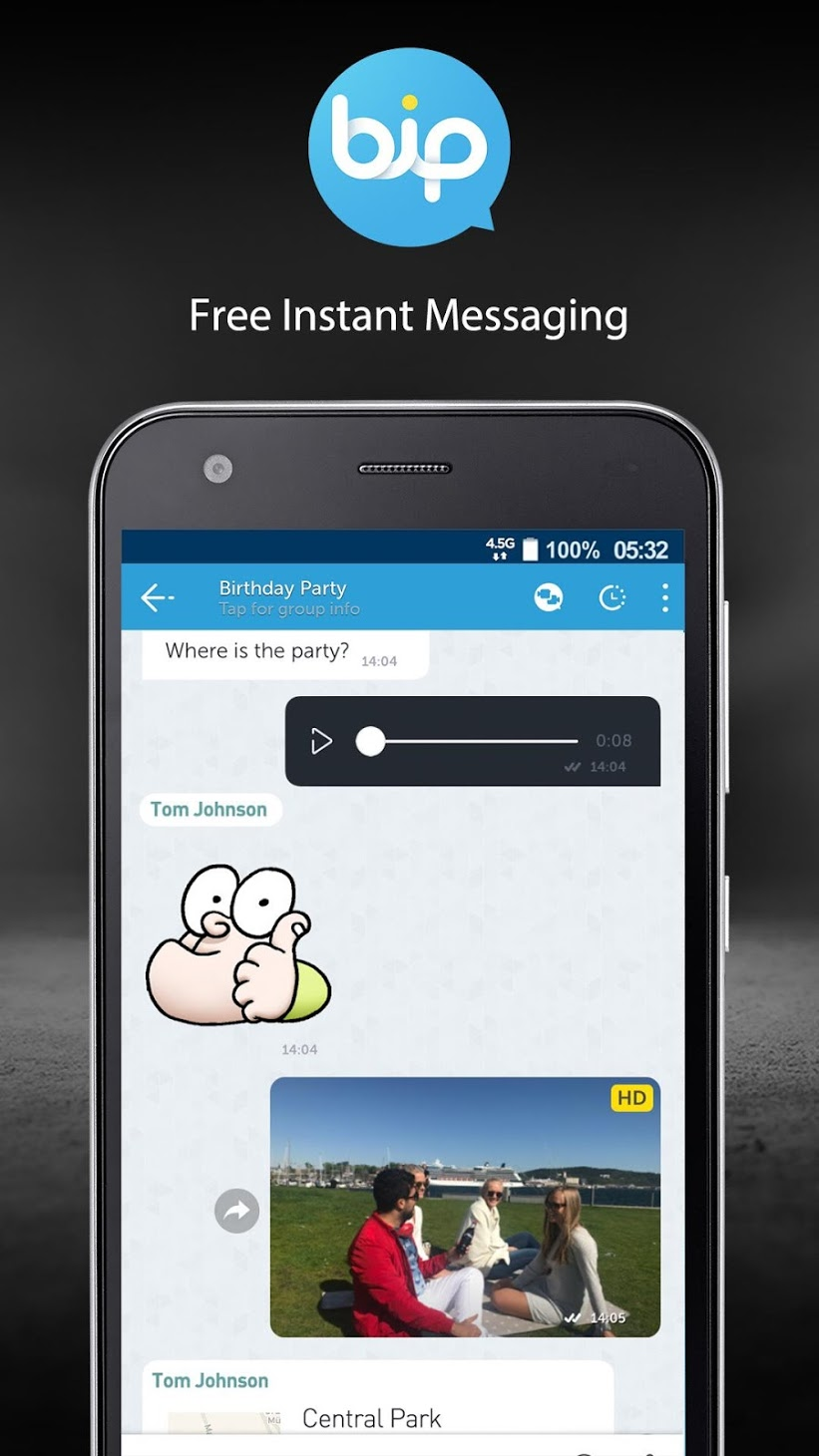 BiP Messenger Mod Apk Unlock All - Download For Android