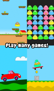 Do you have what it takes to take care of your very own alien pet?! Feed it, clean it, play with it and watch it grow up while leveling up and unlocking different wallpapers and outfits to satisfy your unique taste. How will you customize your Pou? Feed and take care of Pou, and watch it grow! Play Games in the Game Room and collect Coins! Experiment with Potions at the Lab! Customize Pou's appearance! Try out new Outfits, Hats and Eyeglasses! Customize each room's Wallpaper! Unlock Achievements and Special items! Visit and play with your friends! Talk to Pou and listen back!