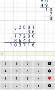 Division calculator