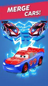 Merge Neon Car: Car Merger